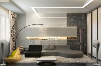 Modern contemporary living room designs