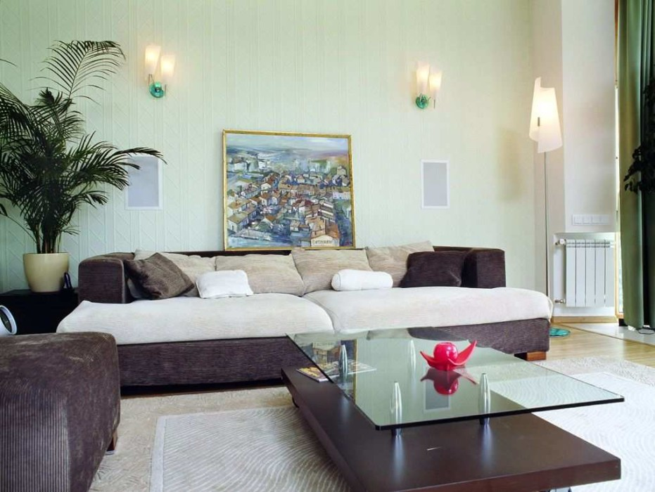 Simple And Stylish Living Room For Home Decoration Ideas