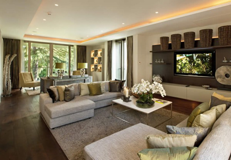 Stylish Luxury Living Room