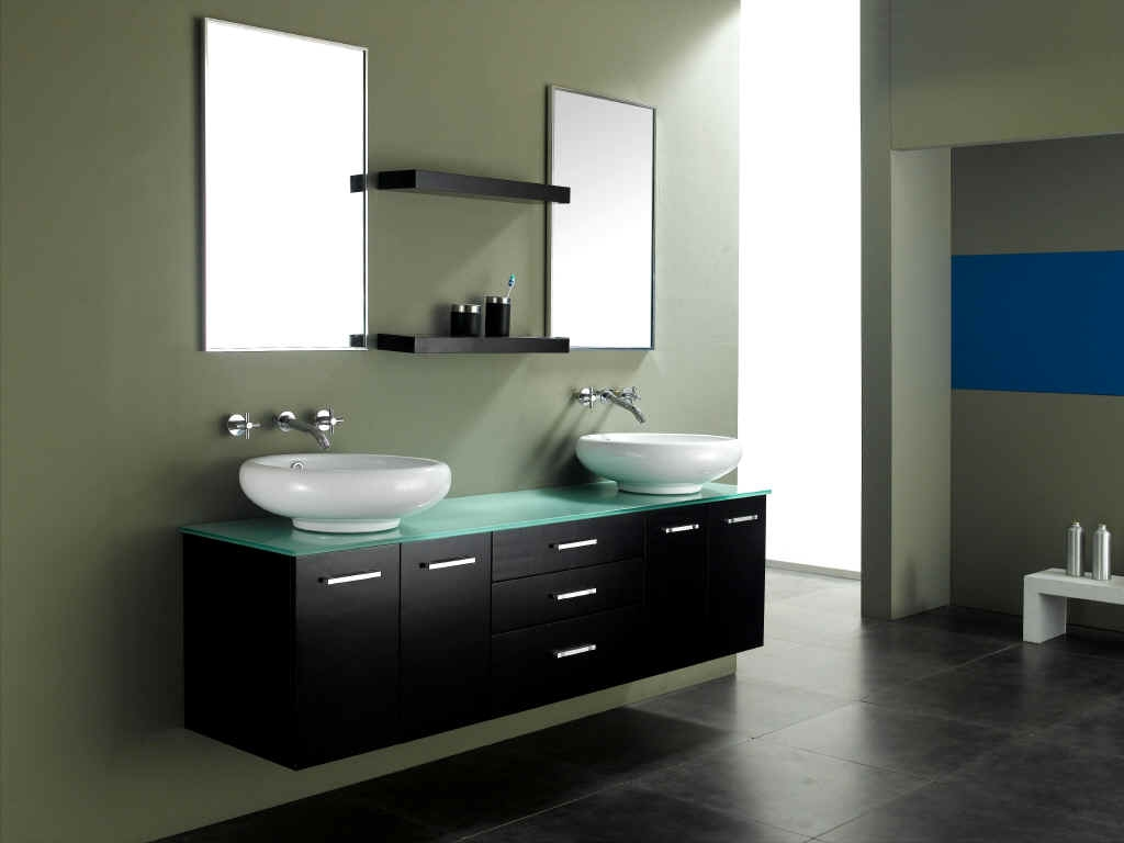 contemporary bathroom sink designs