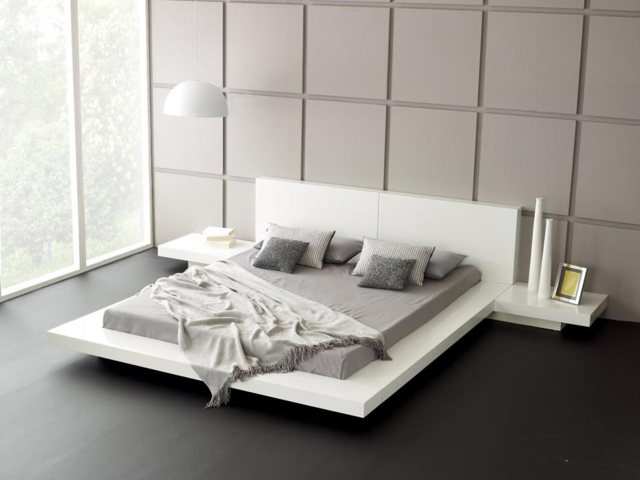 Contemporary White Bedroom Designs