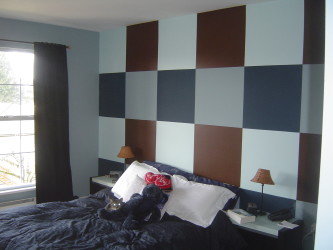 Dynamic painting ideas for teenage bedrooms
