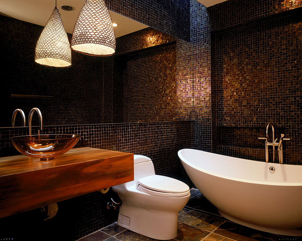 exotic bathroom tile designs