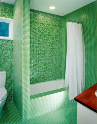 Exotic bathroom tile ideas 22