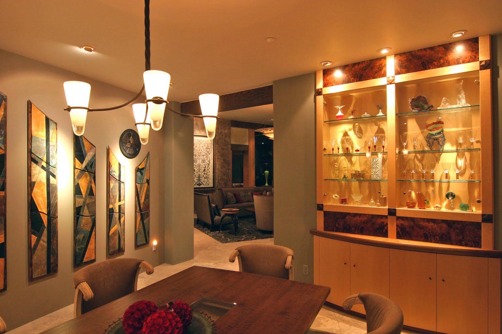 exotic dining room decor