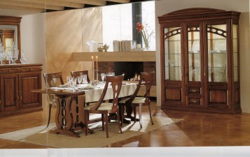 Exotic italian dining room design