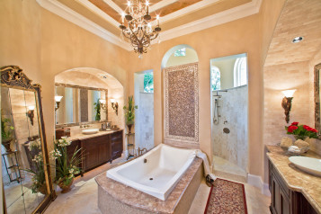 Exotic luxury bathroom ideas