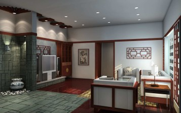 Japanese living room interior style