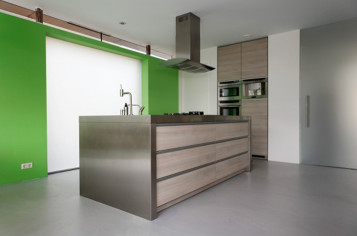 Kitchen designs for minimalist houses