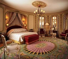Luxury and glamour bedroom