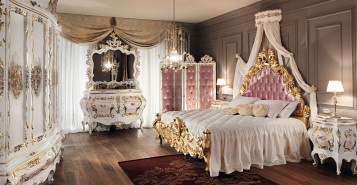 Luxury king bedroom design