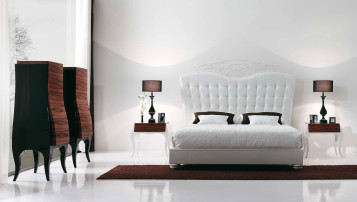 Luxury white bedroom designs
