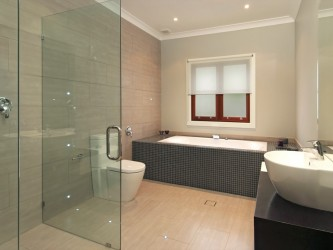 Modern bathroom ideas with nice tile