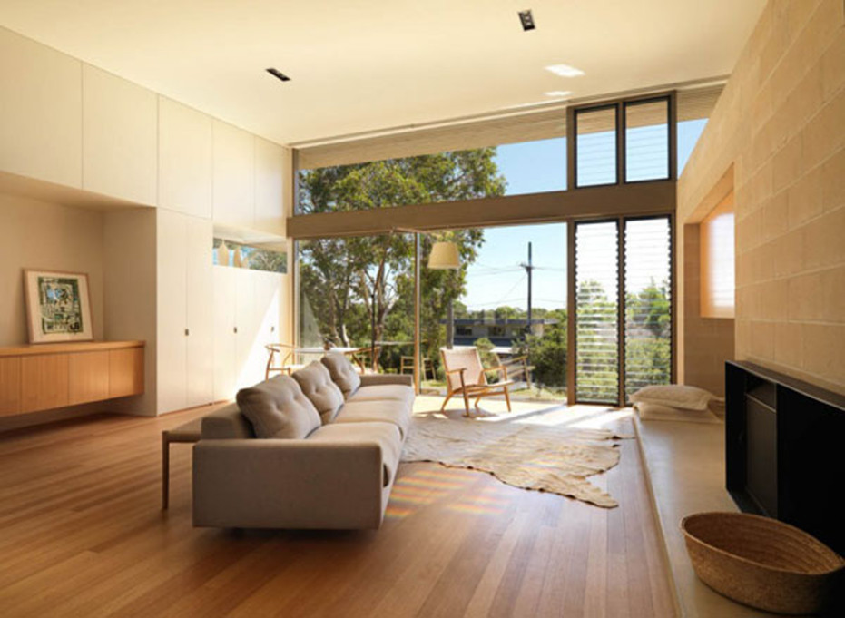 Modern Living Room Ideas With Wooden Floor