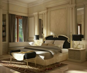 Modern luxury bedroom ideas