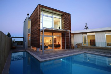 Modern minimalist home design ideas with swimming pool