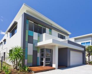 Modern minimalist home exterior designs 2013