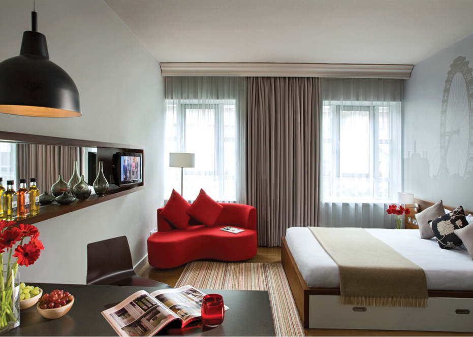 Modern Small Apartment Design Interior With Nice Furniture