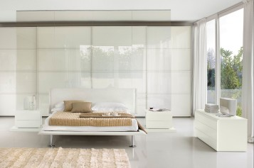 Modern white bedroom ideas