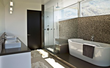 Nice modern bathroom design ideas