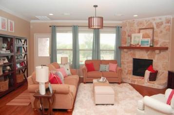 Consider arranging living room furniture