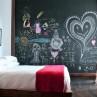 Decorative-Chalkboards-at-bedroom