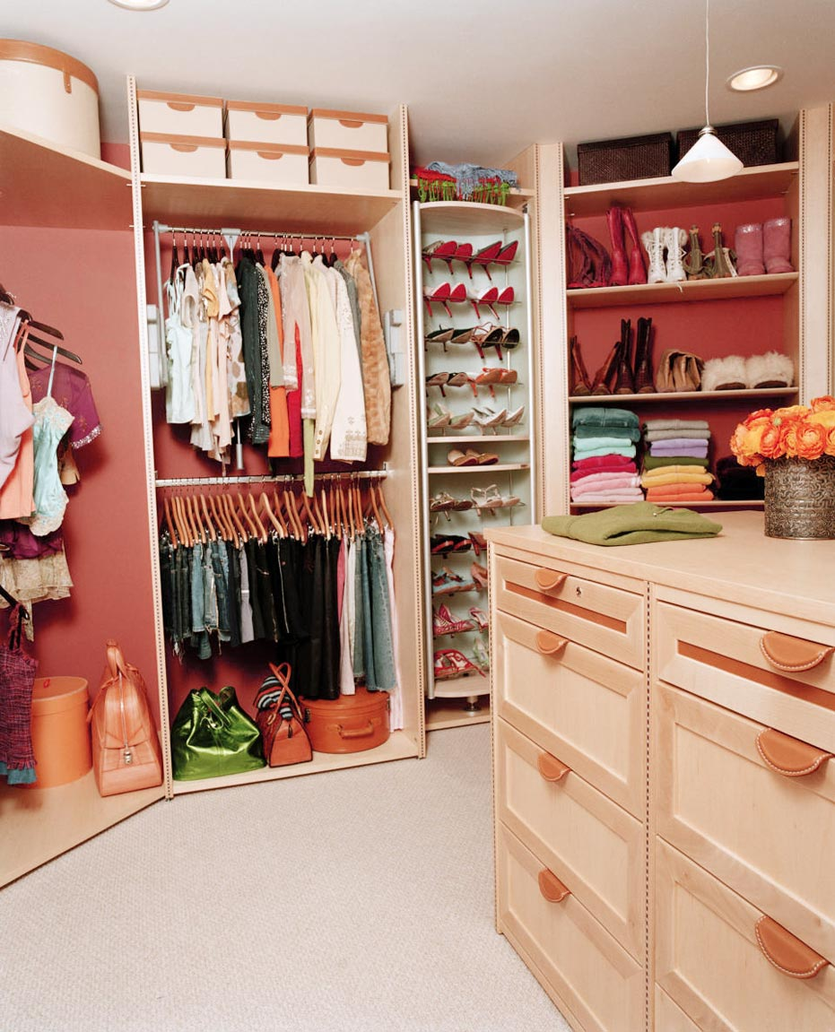 Using cool closet ideas