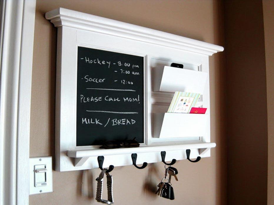 Wood Frame Kitchen Decorative Chalkboards