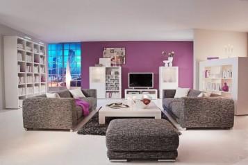 Arranging modern living room