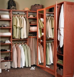 Corner cool closet ideas
