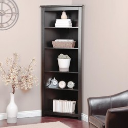Corner single bookcase cabinet