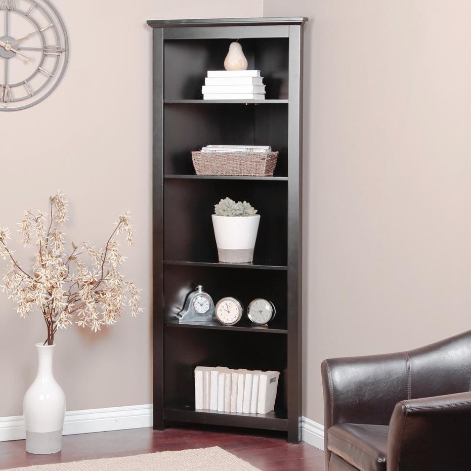 Corner Single Bookcase Cabinet