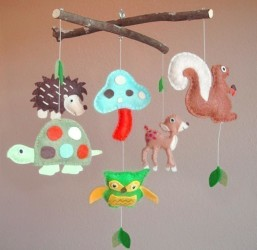 Creative baby mobile 009