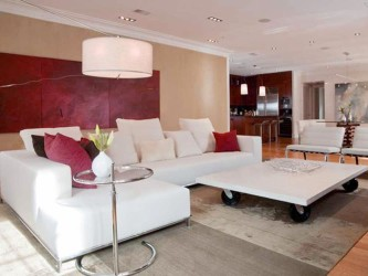 Freesh living room color idea