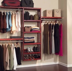 Fresh closet organizing idea