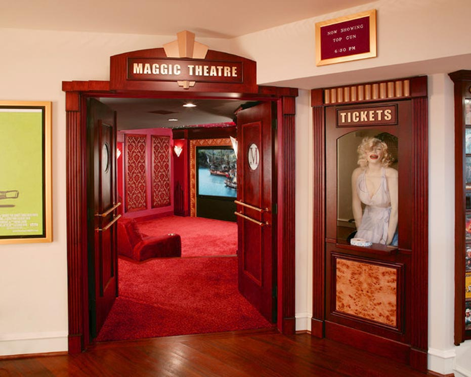 Home Theater Ticket Booth Design At Home