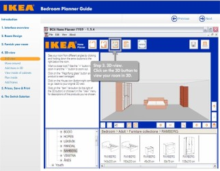 Ikea living room planner screenshot 1