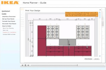 Ikea living room planner screenshot 2