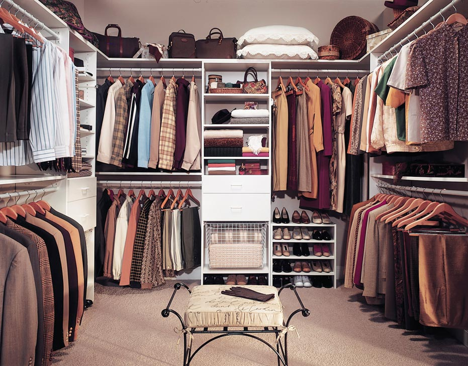 large walk in closets