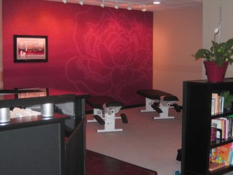 Modern chiropractic office design