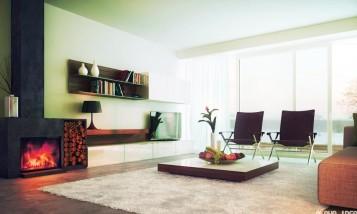 Modern color living room idea