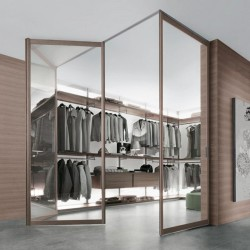 Modern walk in closets