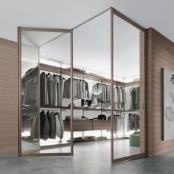 Modern walk in closets
