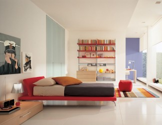 Nice contemporary bedroom design