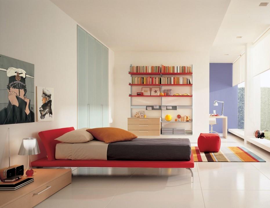 Nice Contemporary Bedroom Design