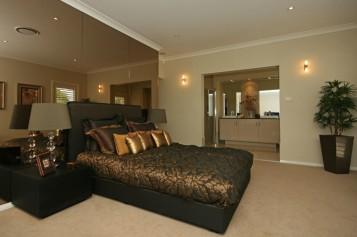 Retro bedroom design