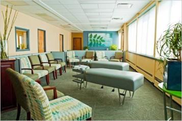 Standard chiropractic office interior design