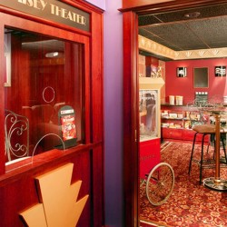 Ticket booth design in your house
