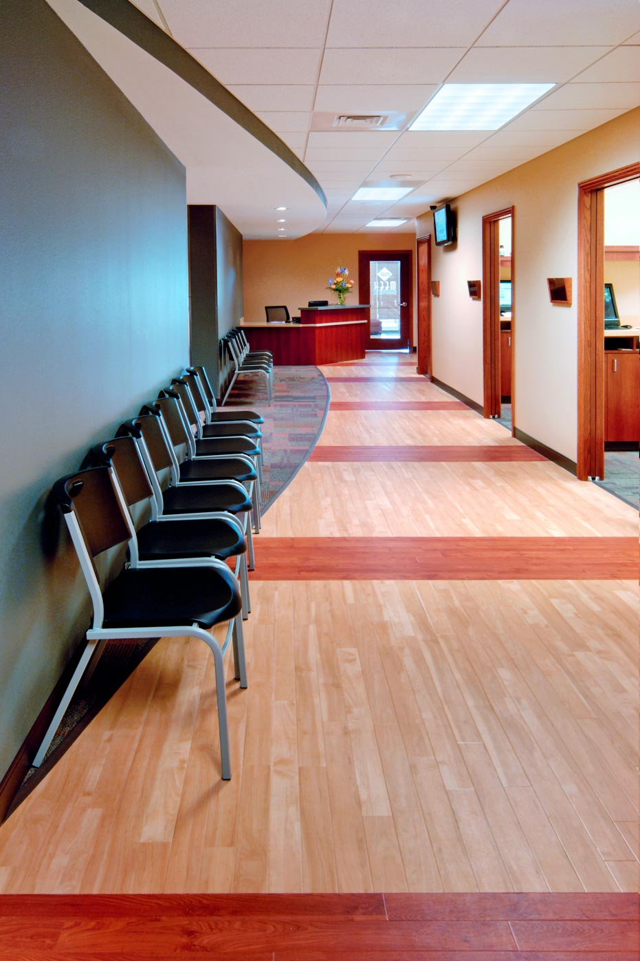 waiting room chiropractic office