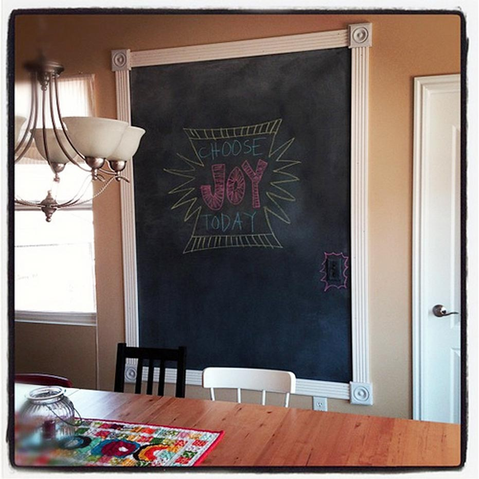 wall Decorative Chalkboards at Home
